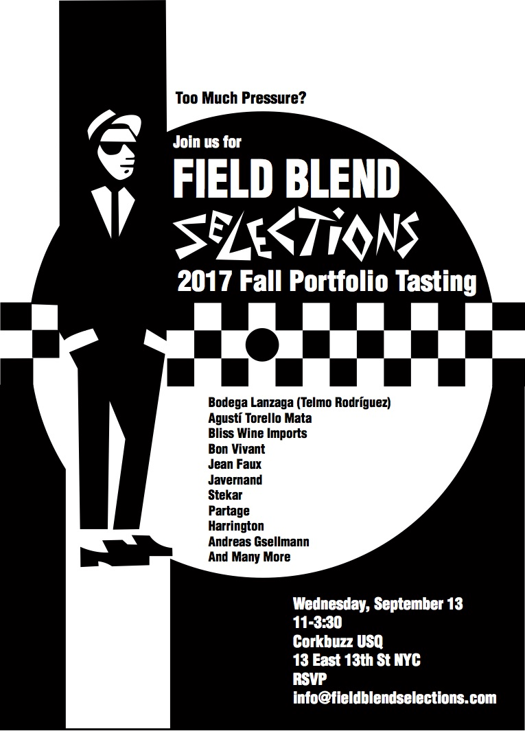 Trade Only - RSVP at info@fieldblendselections
