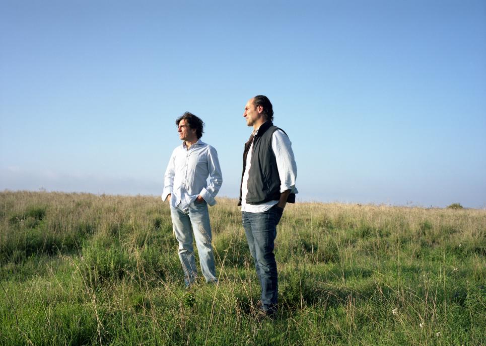 Telmo Rodriguez and Pablo Eguzkiza