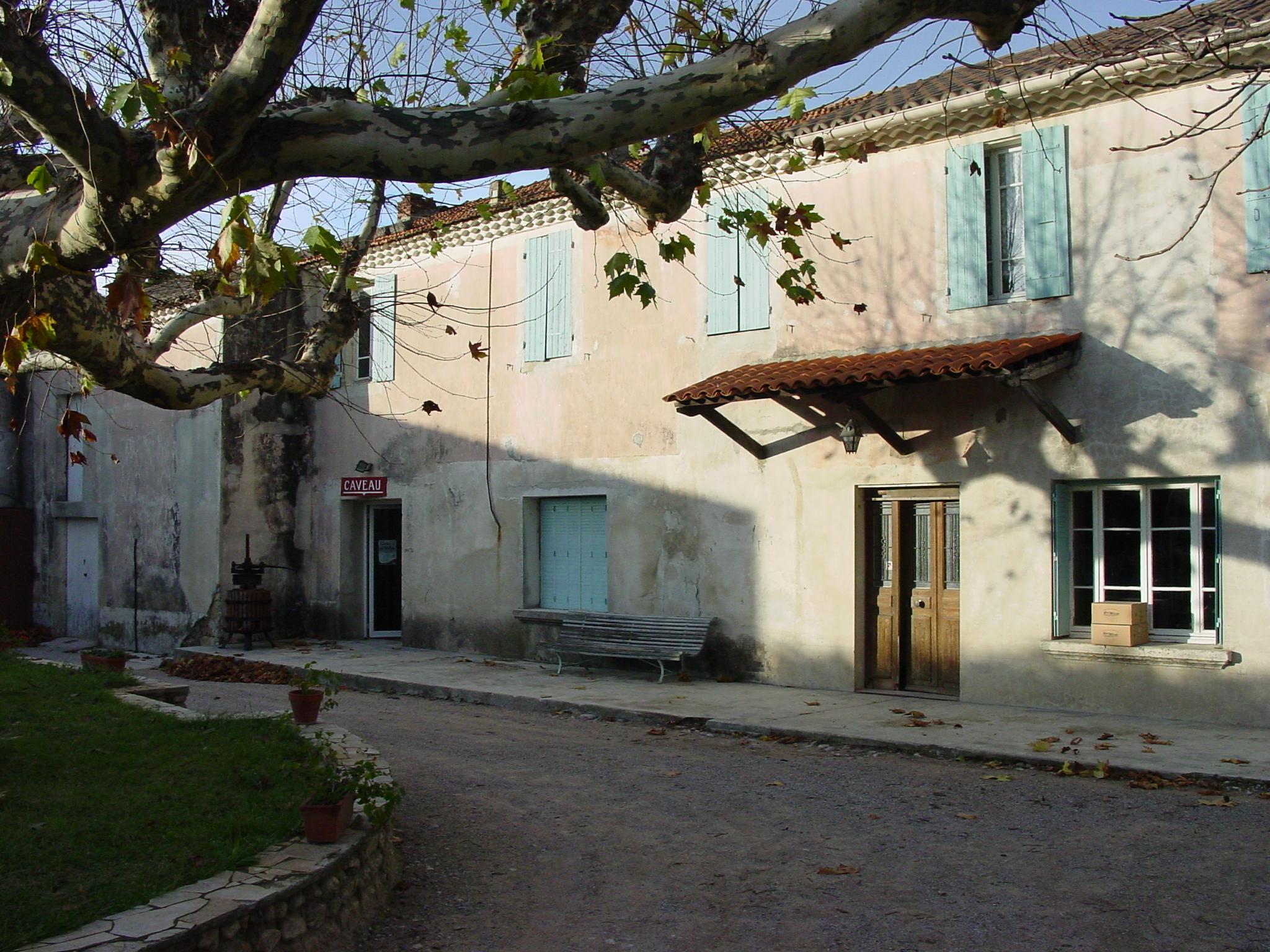 Winery at Domaine de Servans.JPG