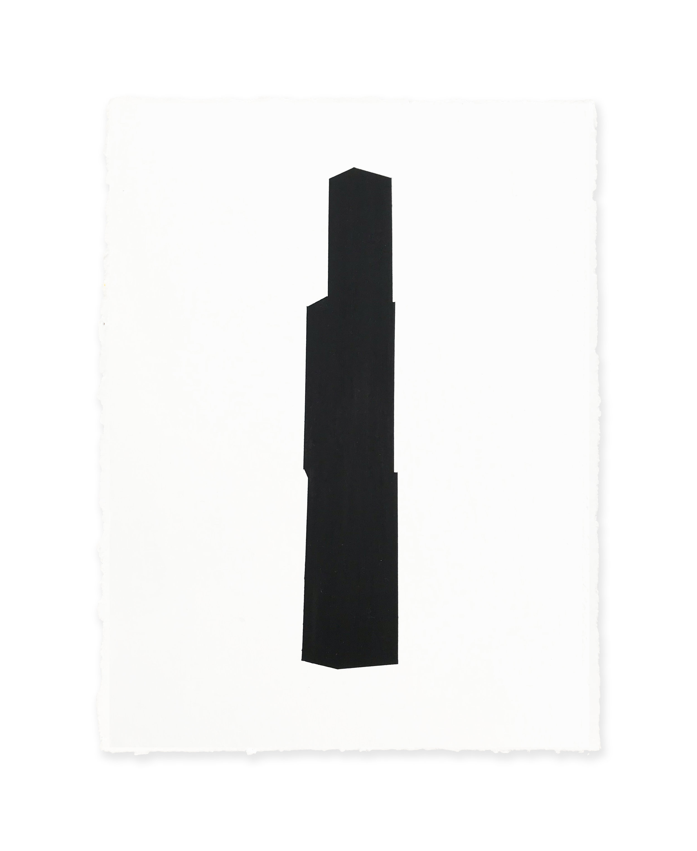 White w/black