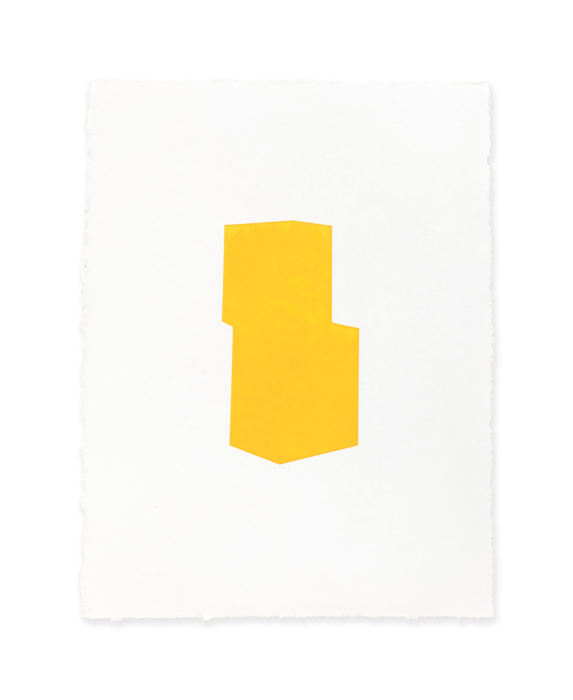 White w/yellow
