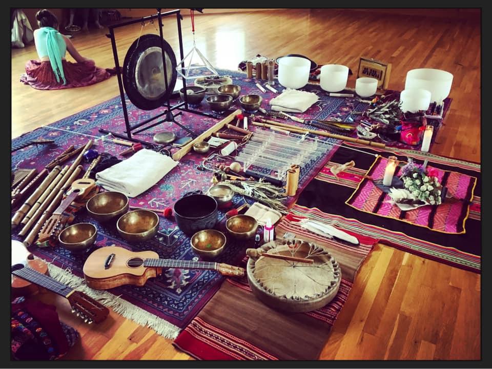 Sound Healing Instrument Altar
