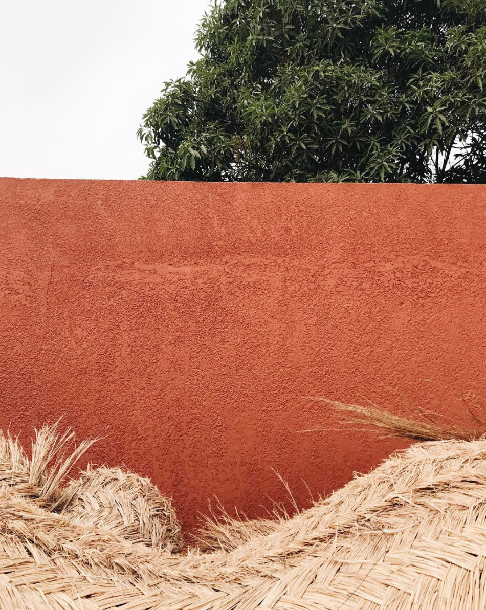 Terracotta walls in Ouagadougou / Photo Courtesy of AAKS