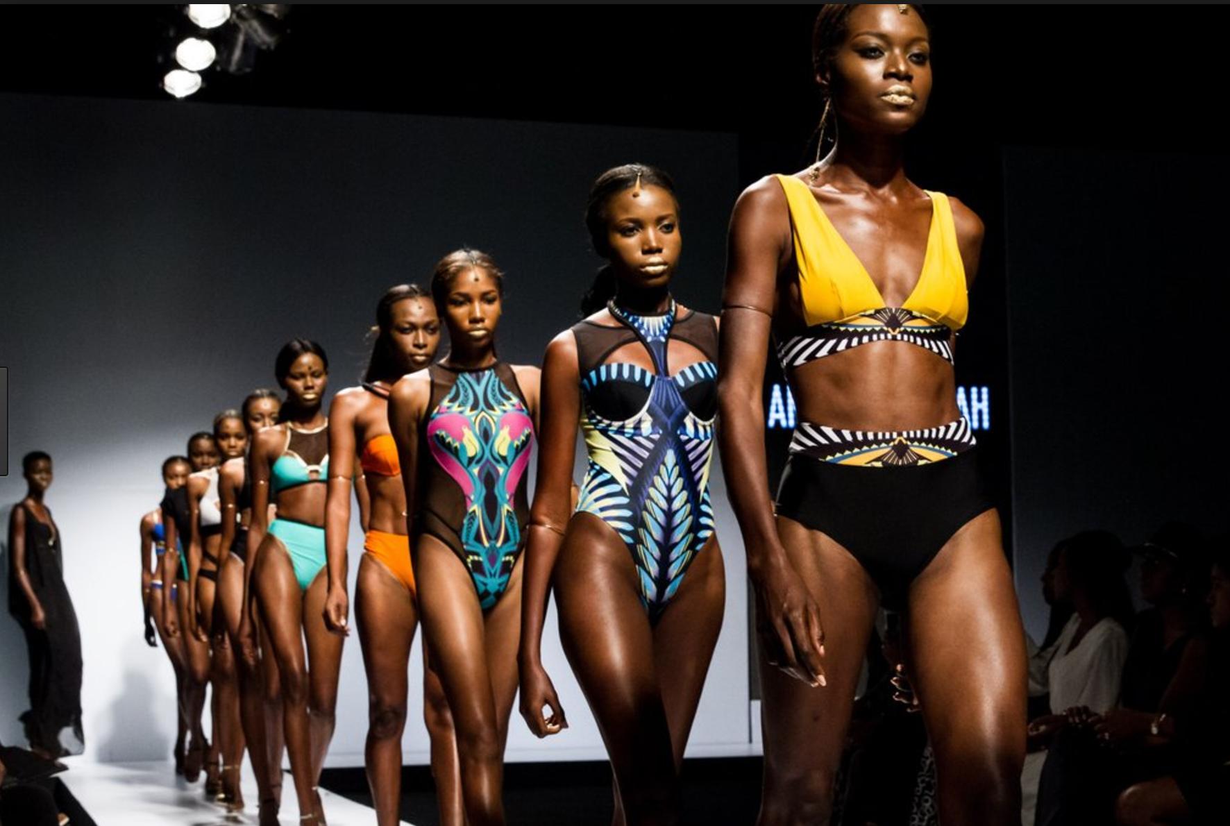 Lagos Fashion & Design Week 2015 featuring Nigerian label Andrea Iyamah