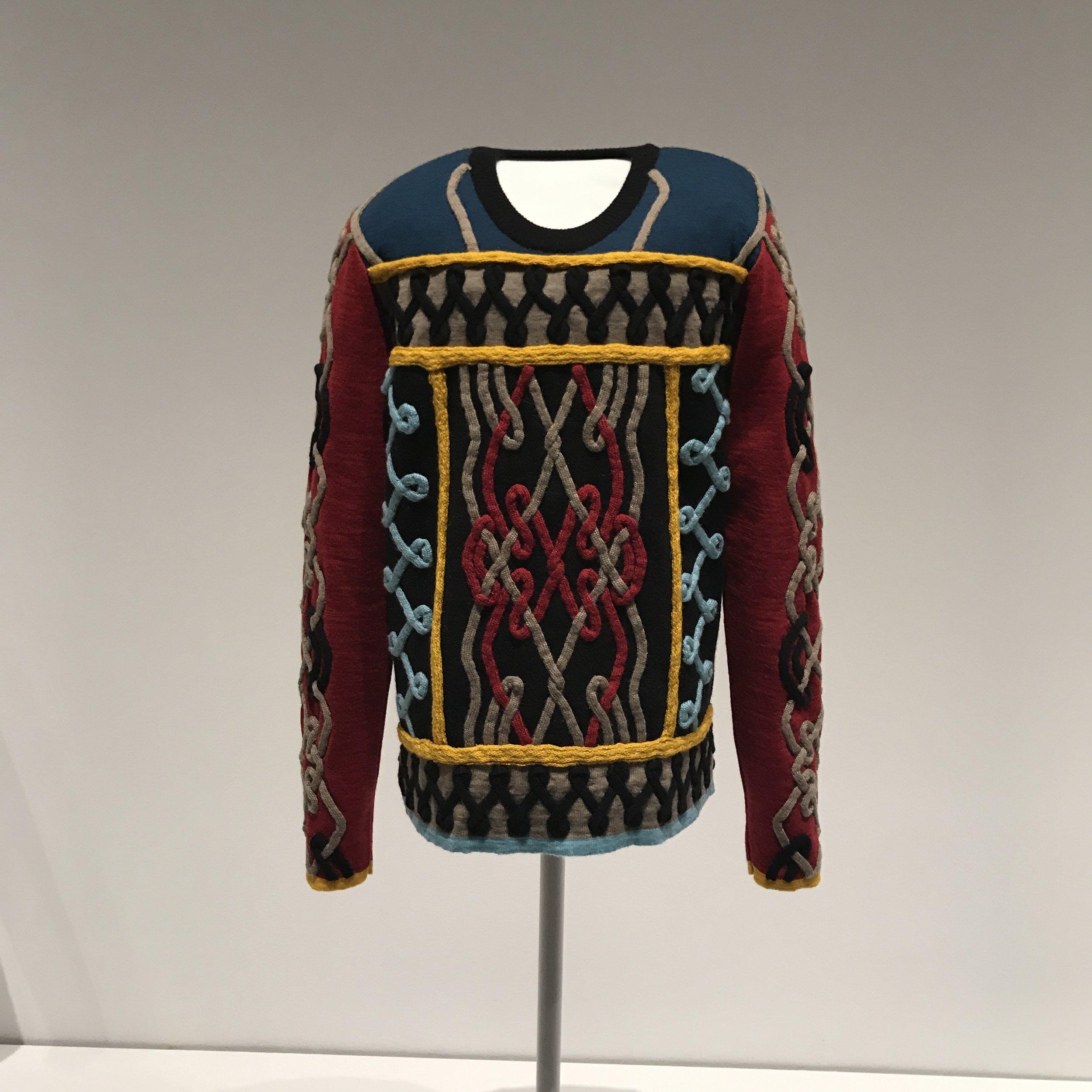 Aran Sweater.Prototype commission by Laduma Ngxokolo