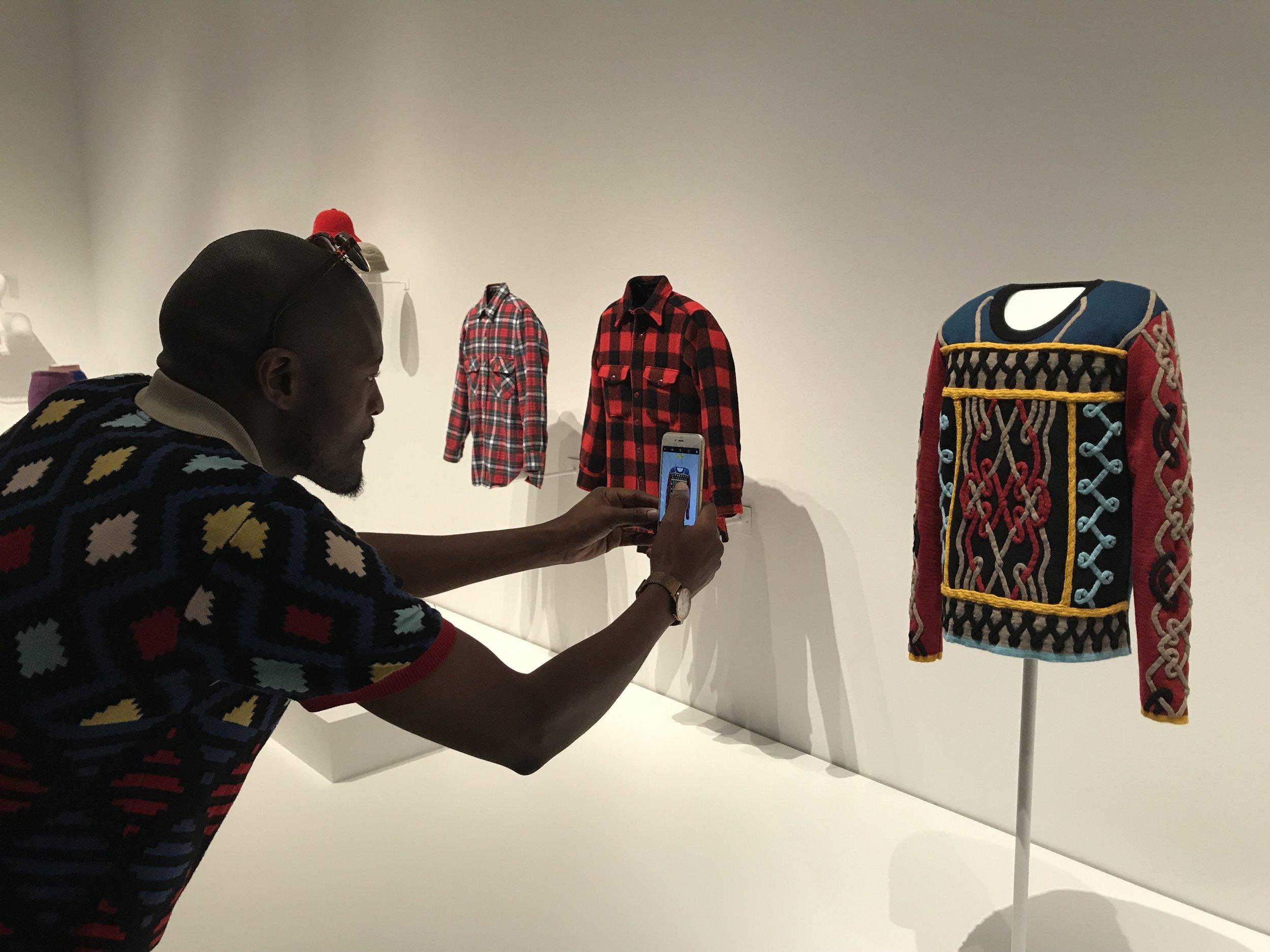 Fashion Designer Laduma Ngxokolo