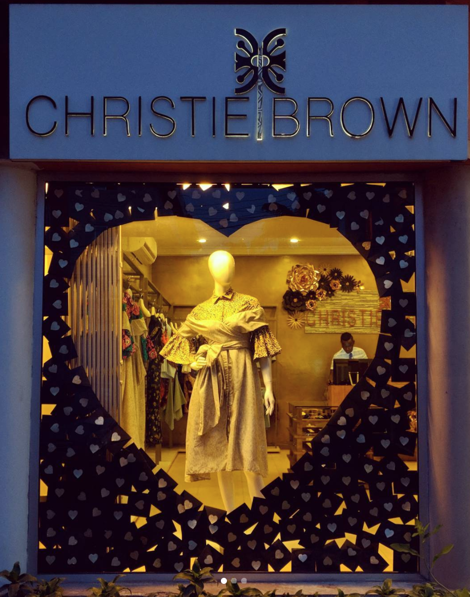 Christie Brown Flagship in Osu-Re, Accra, Ghana