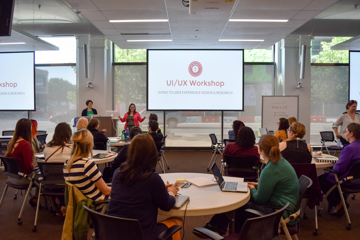 Teaching an Intro to UX Workshop through Girl Develop IT