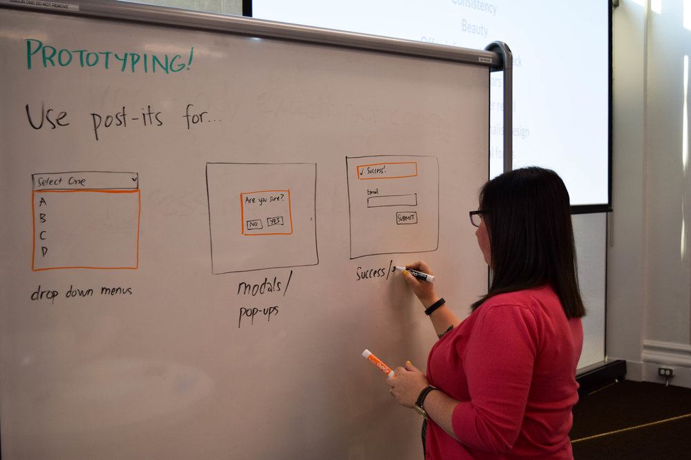 Teaching tips and tricks to paper prototyping