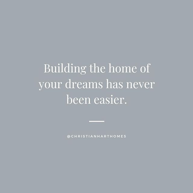 At Christian Hart Custom Homes, we breakdown the home building process into just four simple steps:⁣ ⁣ 1) Consultation⁣ 2) Planning⁣ 3) Execution⁣ 4) Completion⁣ ⁣ Throughout the entire process, we stay connected - sharing insight through the project and ensuring you are notified of any important changes! Click the link in our bio to learn more!⁣ .⁣ .⁣ .⁣ .⁣ .⁣ #christianhartcustomhomes #custombuild #homedesign #luxuryhome #dreamhome #homebuilder #newhome #realestate #designbuild #custombuilt #homeinspiration #dreamhouse #homereno #newconstruction #custommade