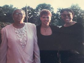 Me, my mom and my sister