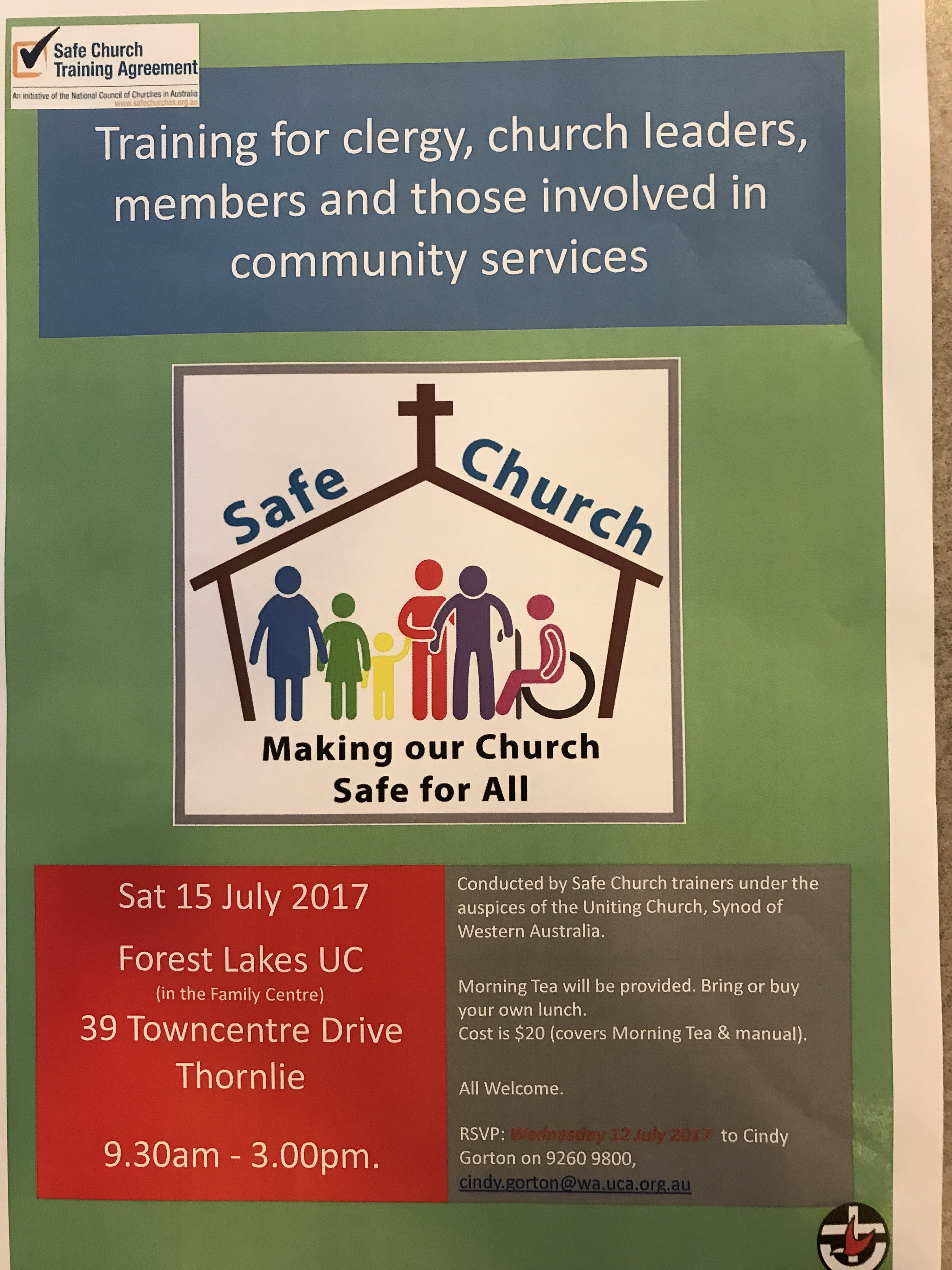 This event is open to all members of our community.