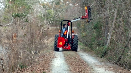 Smart Trac cutter at work, contact me for a quote.