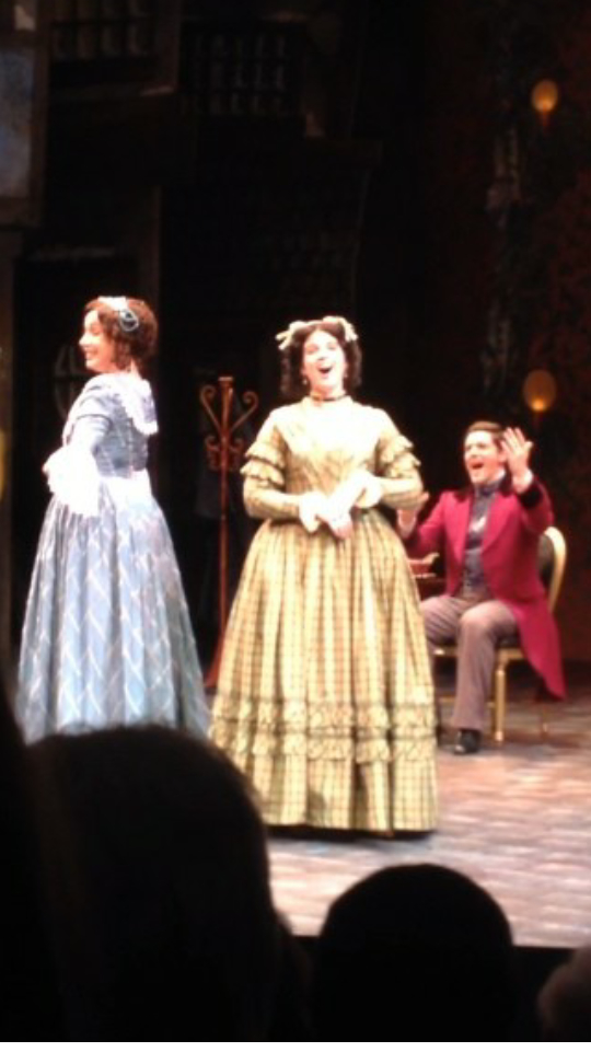 Singing out in  A Christmas Carol  at the Alabama Shakespeare Festival