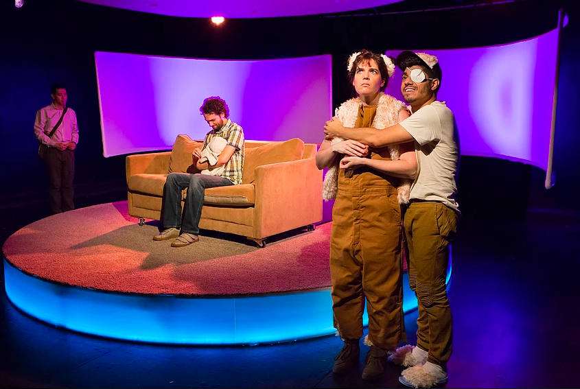 The cast of Dan Giles's  Breeders  (Photo: Hunter Canning)