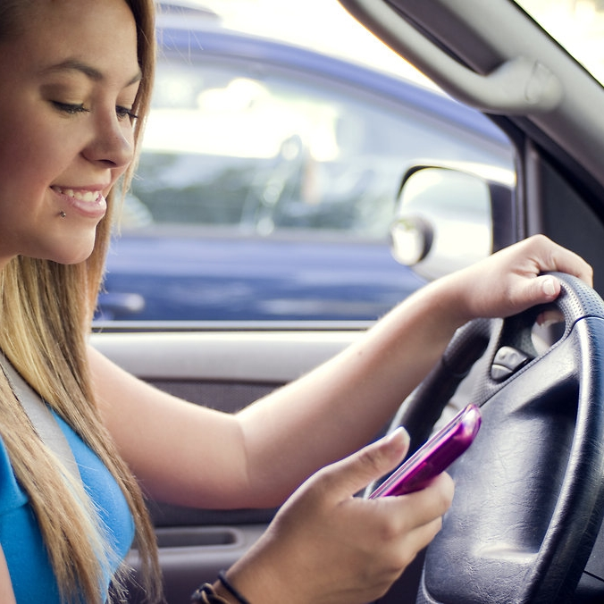 Tell your teen texting in the car is fine, as long as the car is parked.