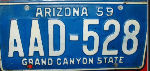 Give the old license plate to the seller. It might be worth a partial refund to him.