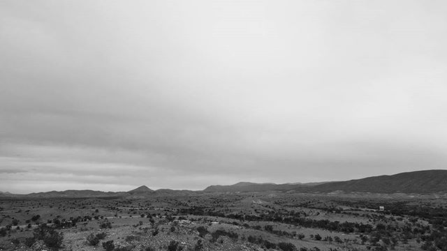 Cloudy desert days.