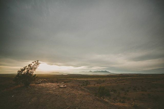 The place is different now. It's almost cold. The sky's overcast, and the low clouds push across the horizon on a sharp wind. We're different, too.  Latest post is up. Check it out and share if you dig it. Link in bio. #bowmanodyssey #fourwheelcamper #dodge #nps100