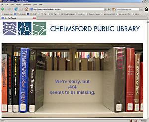 """404 Page Book Shelf Flickr"" by Flickr user herzogb"