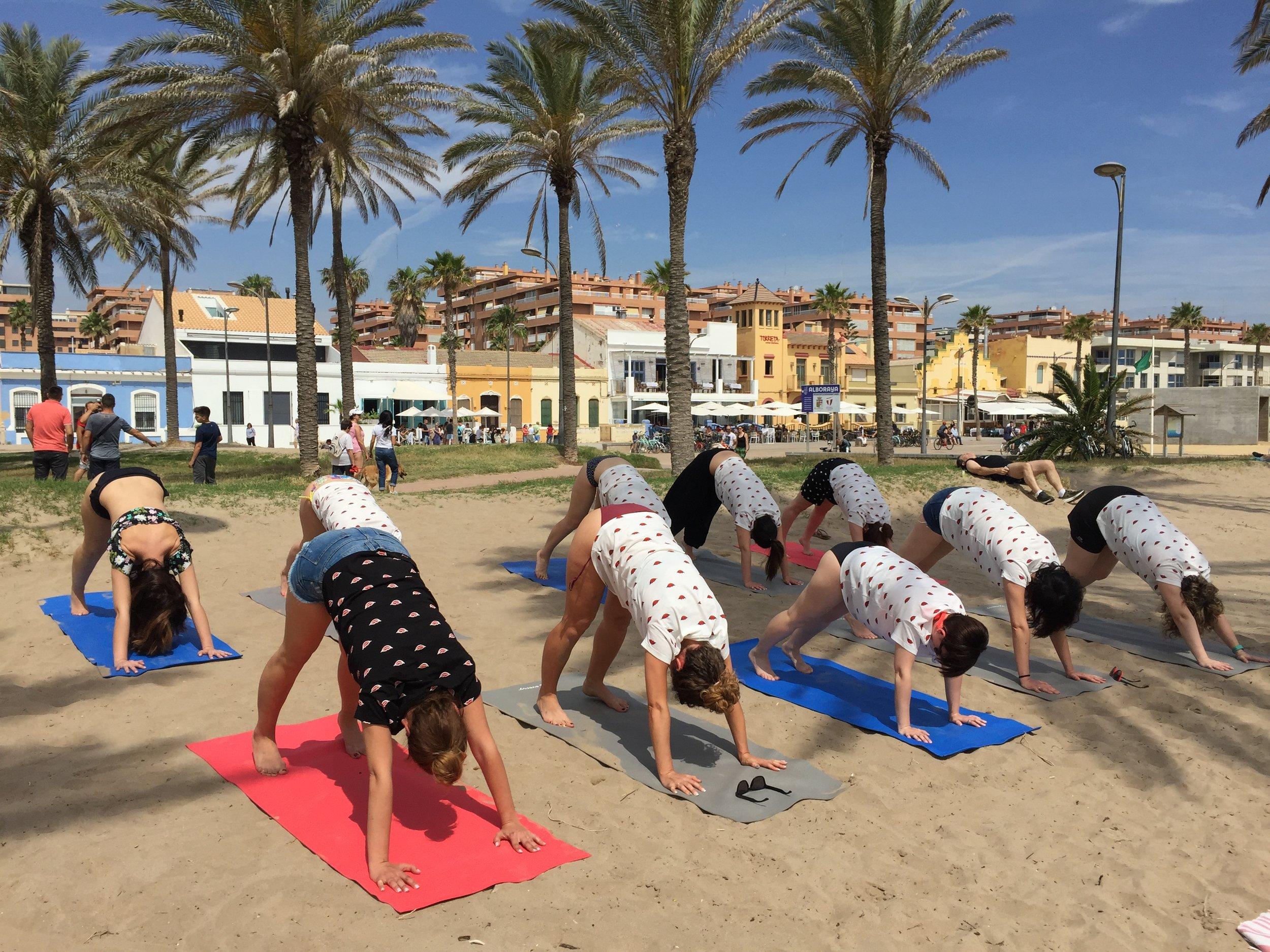 yoga eventos valencia
