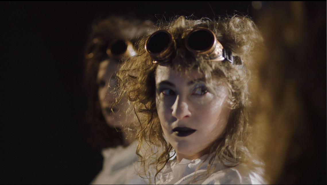"Lara Carling as Lunar Queen in Subcutaneous Theatre's ""Phases of the Moon"""