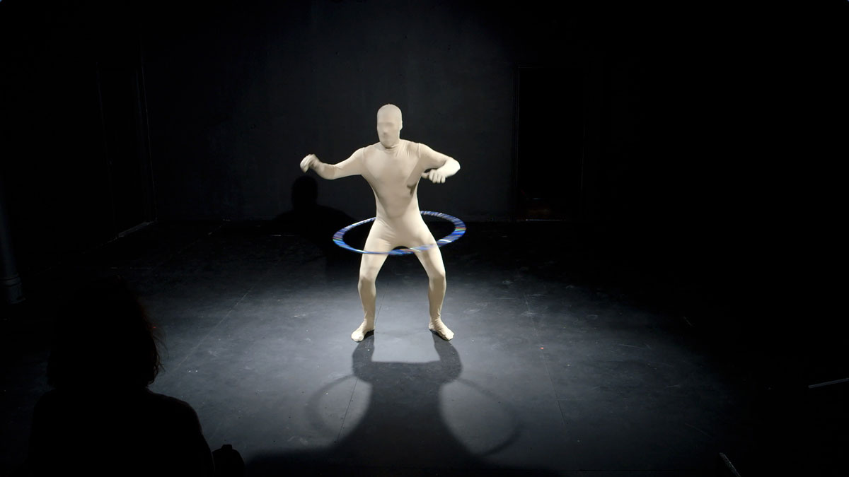"Cooper Wise in Subcutaneous Theatre's ""Hula Hoop"""