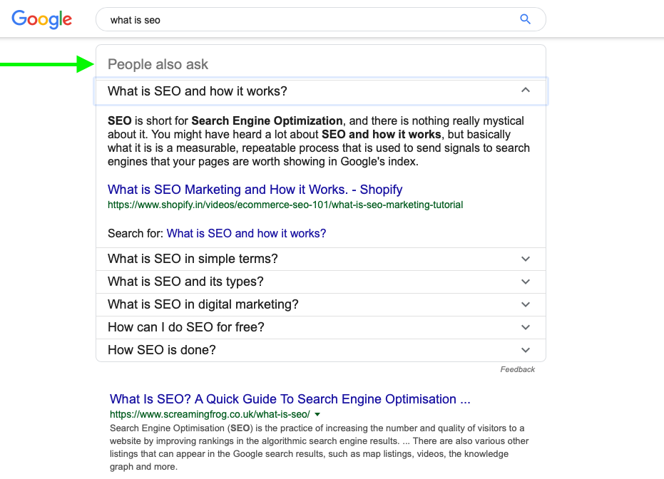 How to do SEO yourself.