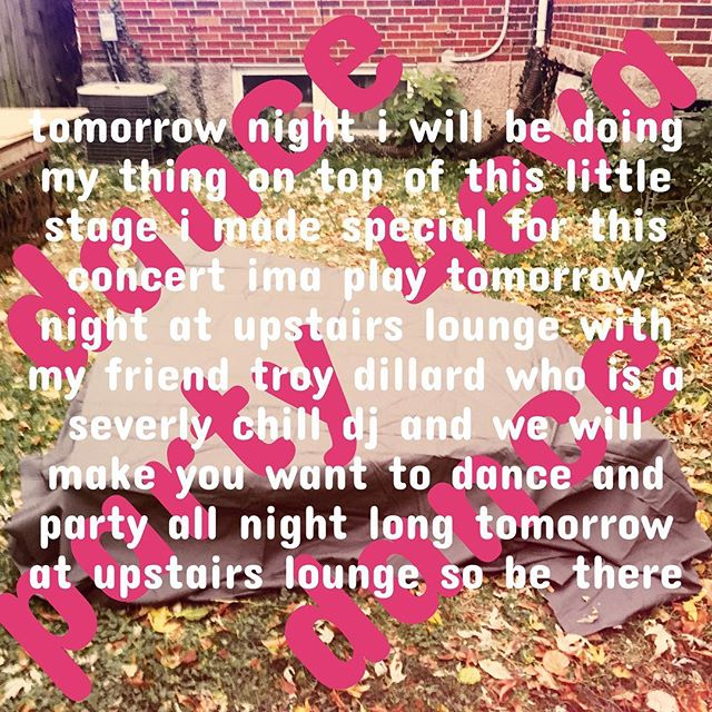 Dance. Party 4eva. Dance.