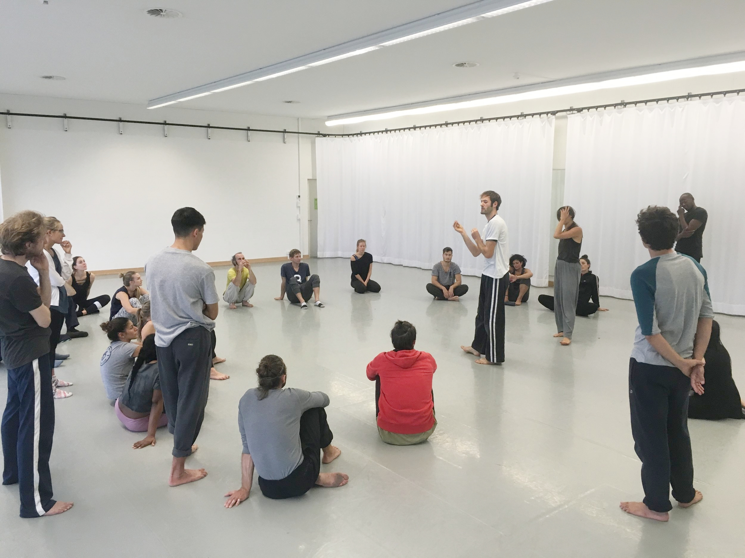 Movement Masterclass with Matan Levkowitch