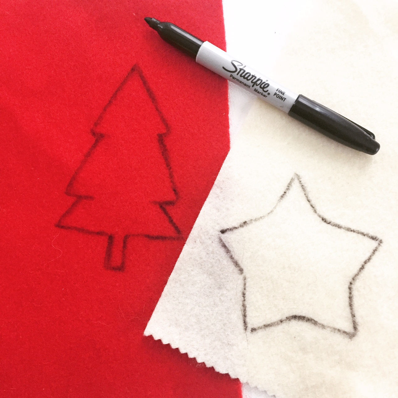 Handmade Fabric Ornament 2