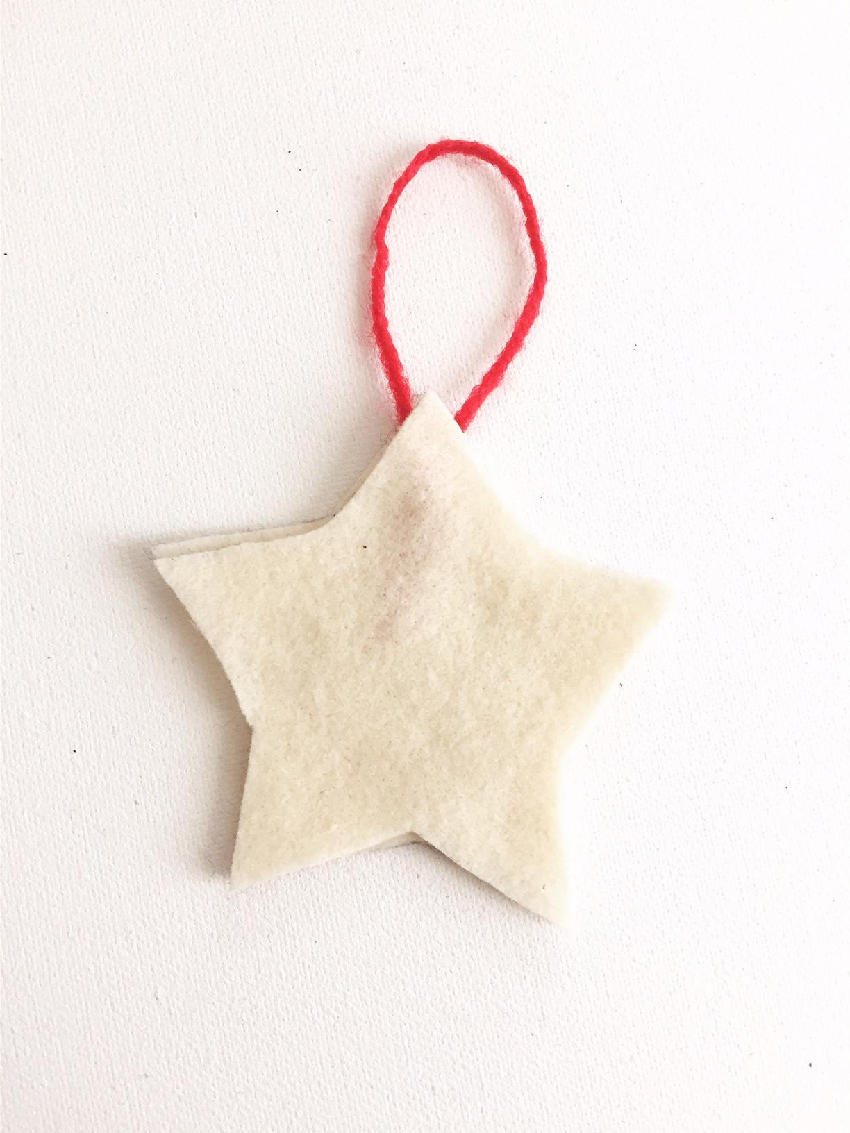 Handmade Fabric Ornament 5