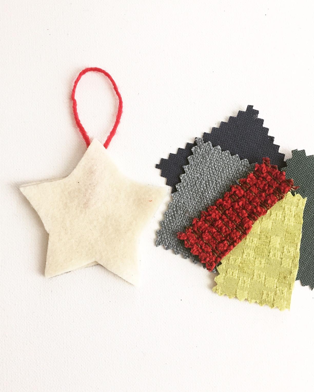 Handmade Fabric Ornament 6