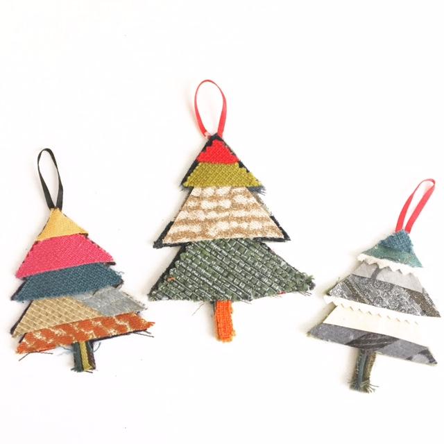 Handmade Fabric Ornament 8