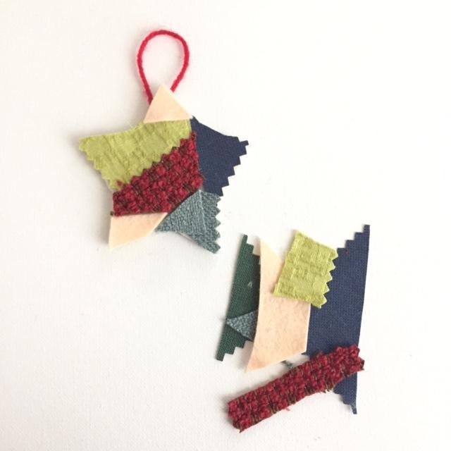 Handmade Fabric Ornament 7