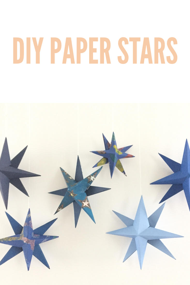 DIY handmade holiday star 13