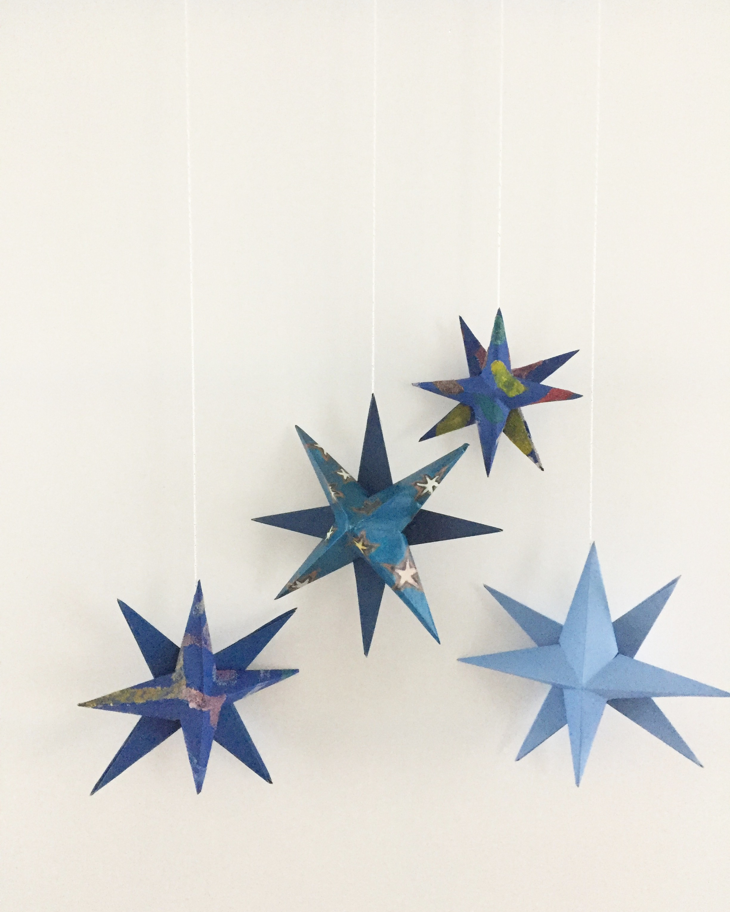 DIY handmade holiday star 14