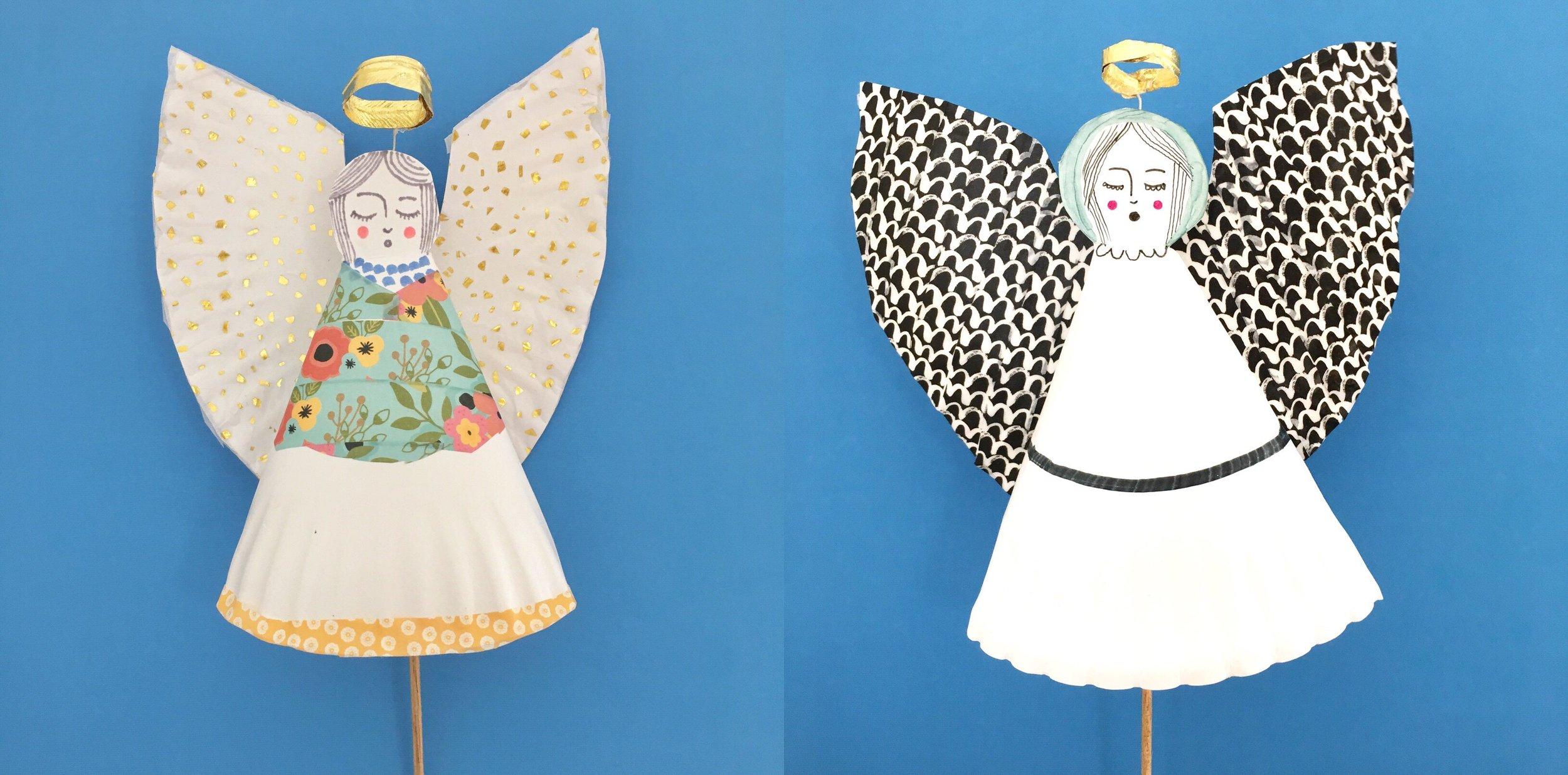 Paper Plate Angel 1