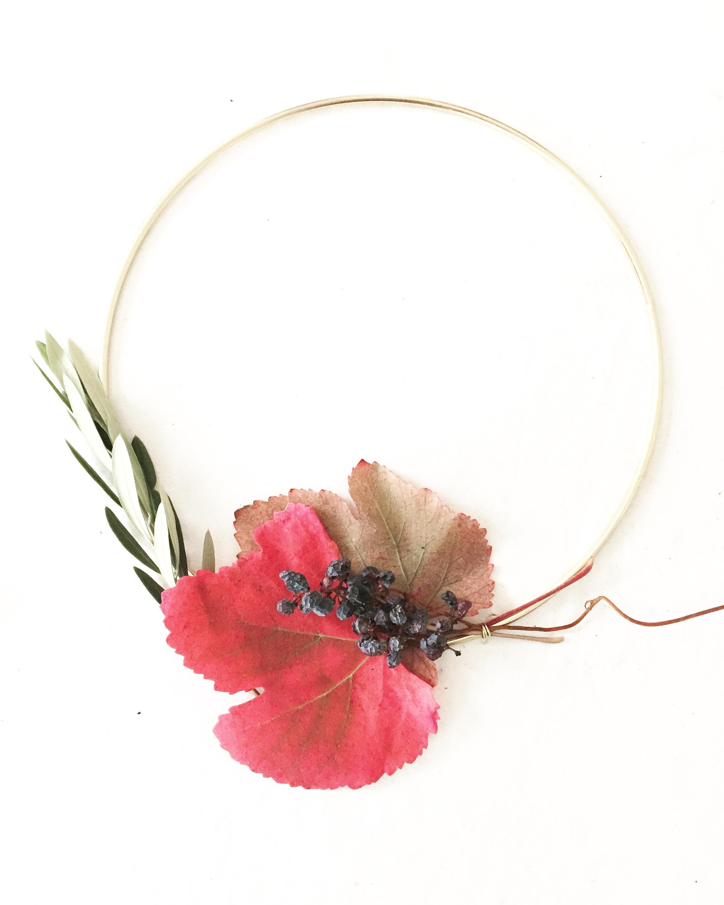 DIY Foraged Wreath 5