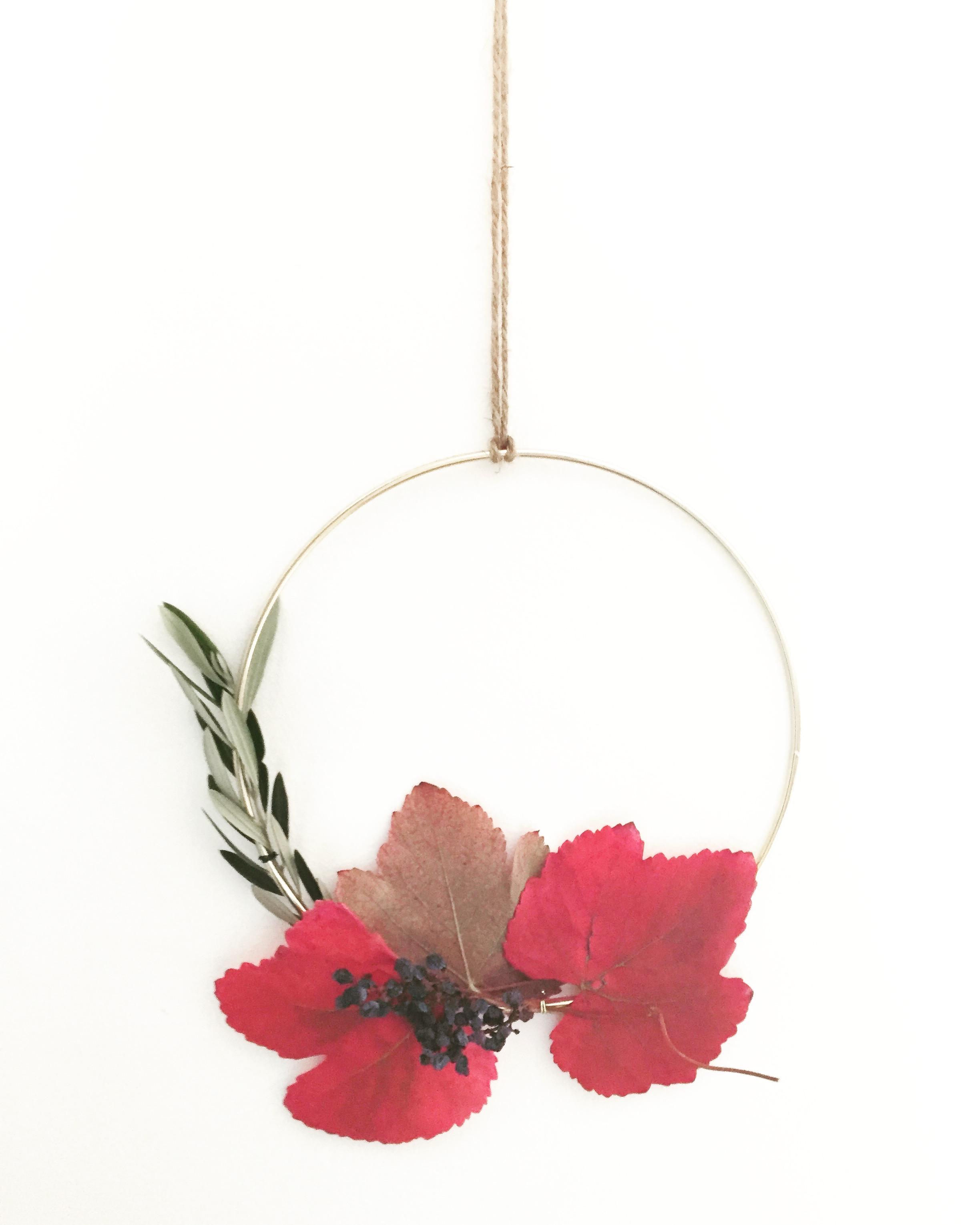 DIY Foraged Wreath 7