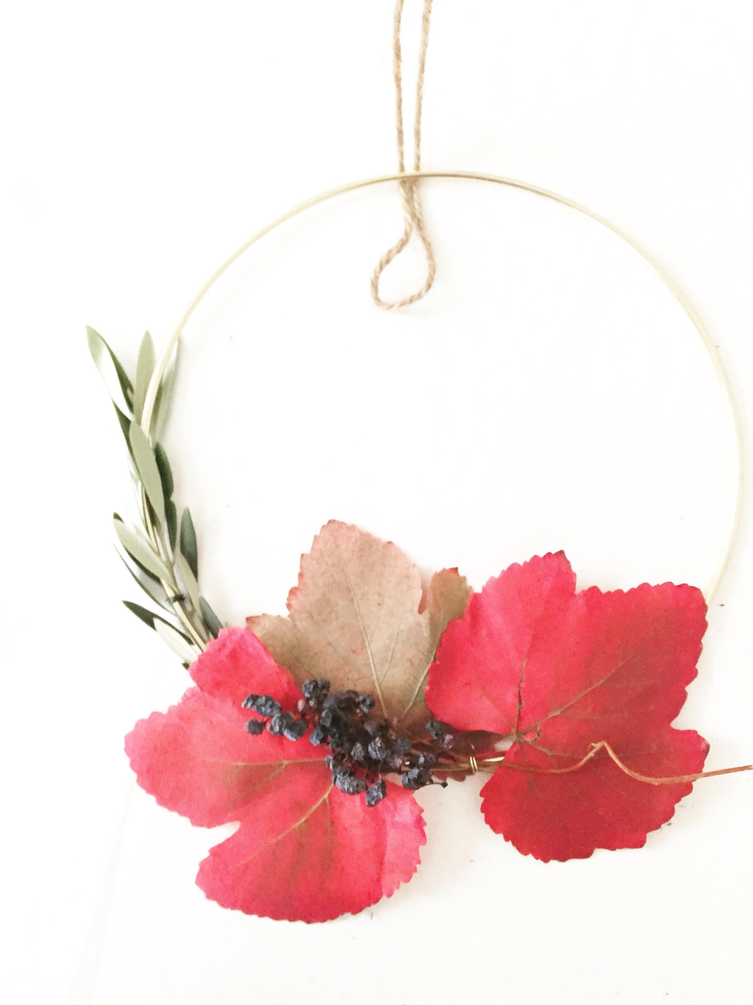 DIY Foraged Wreath 6