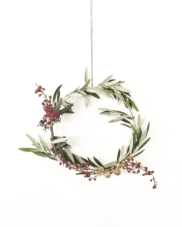 DIY Foraged Wreath 11