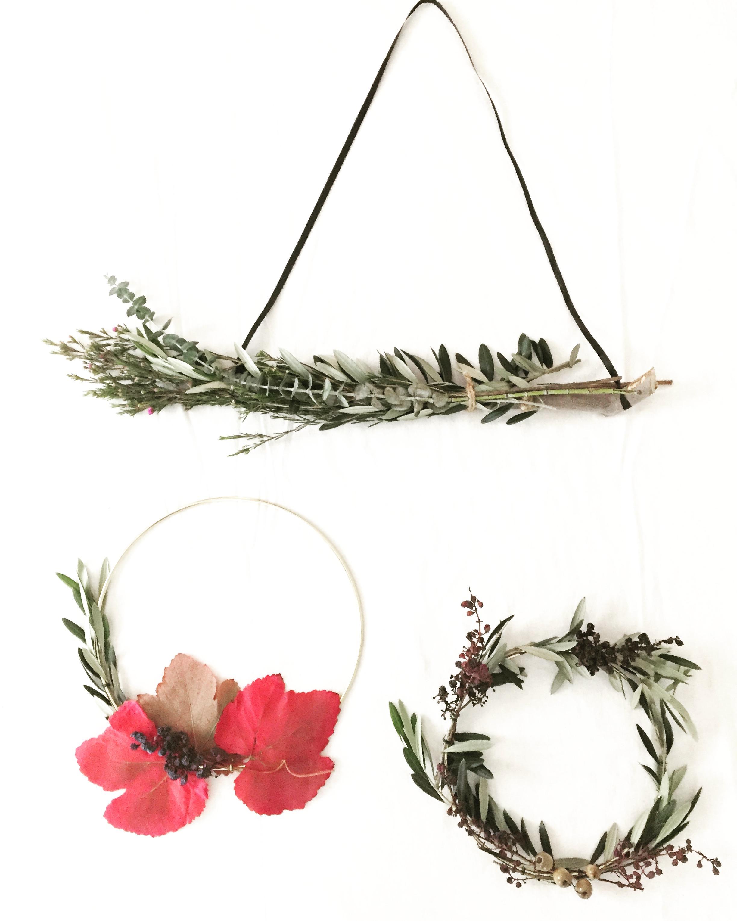 DIY Foraged Wreath 13