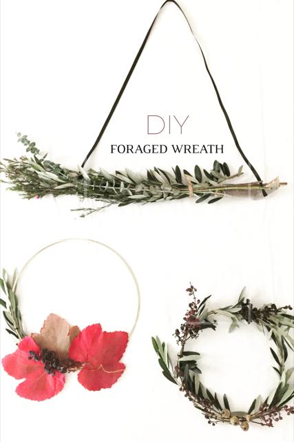 DIY Foraged Wreath 14