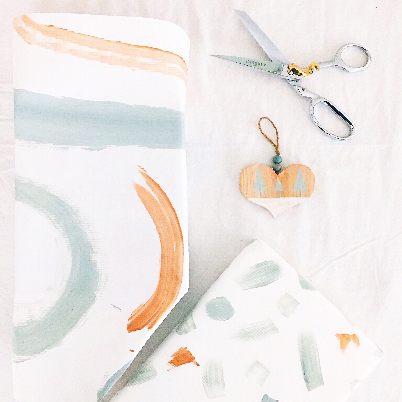 DIY Gift Wrap 9