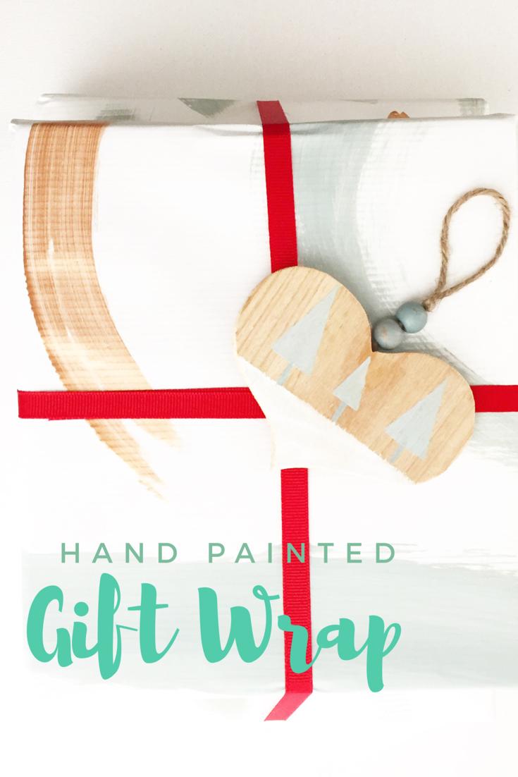 DIY Gift Wrap 11