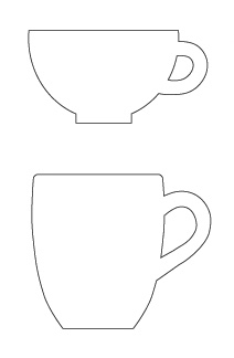 DIY Tea Cup Card 4