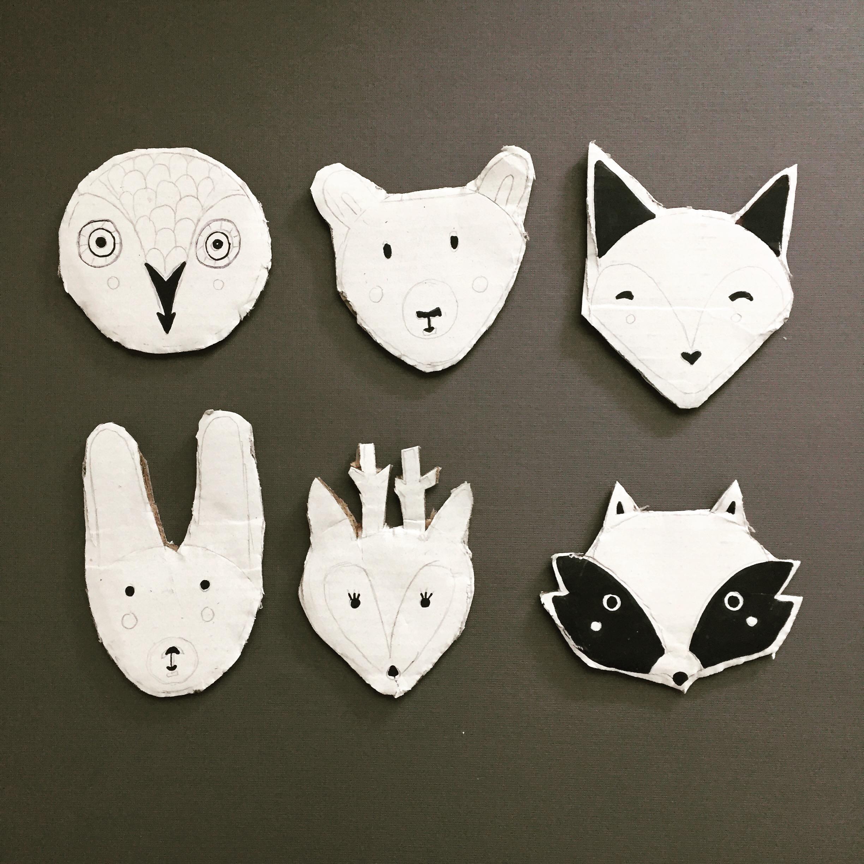 DIY Woodland Animal Puppets 4