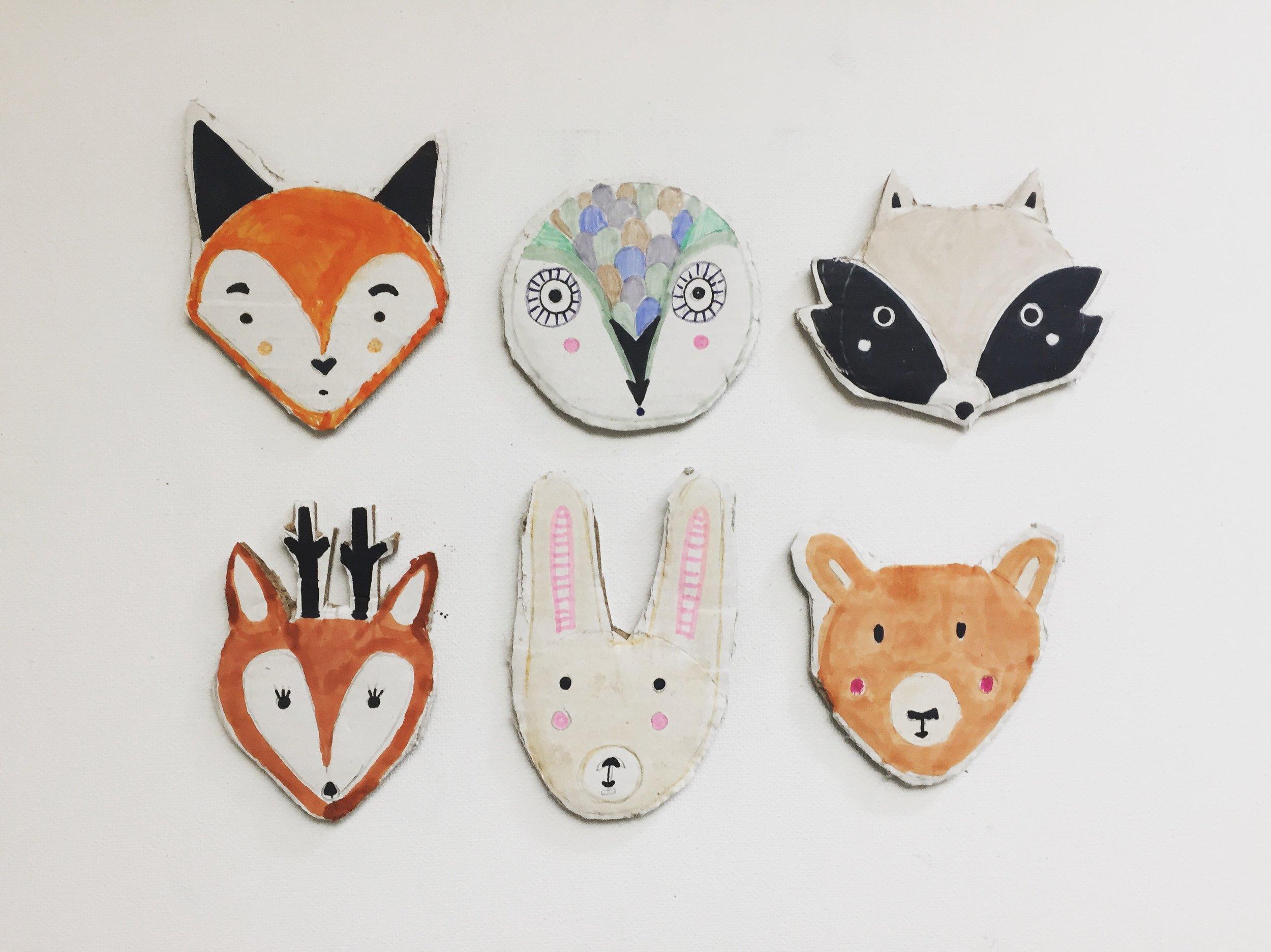 DIY Woodland Animal Puppets 5