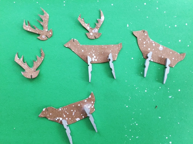 Clothespin Rudolph Ornament 7